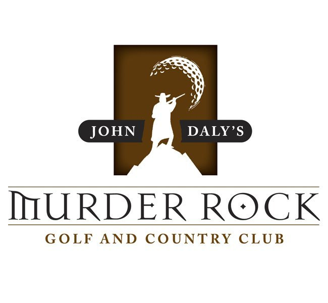 Red Crow Marketing - Murder Rock Golf and Country Club Logo Design