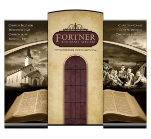 Red Crow Marketing - Fortner Insurance Trade Show Display