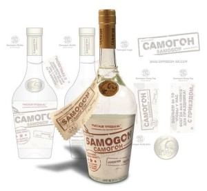 Red Crow Marketing - Samogon Bottle Label