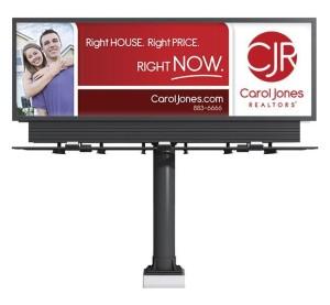 Red Crow Marketing - Carol Jones Realtors Billboard