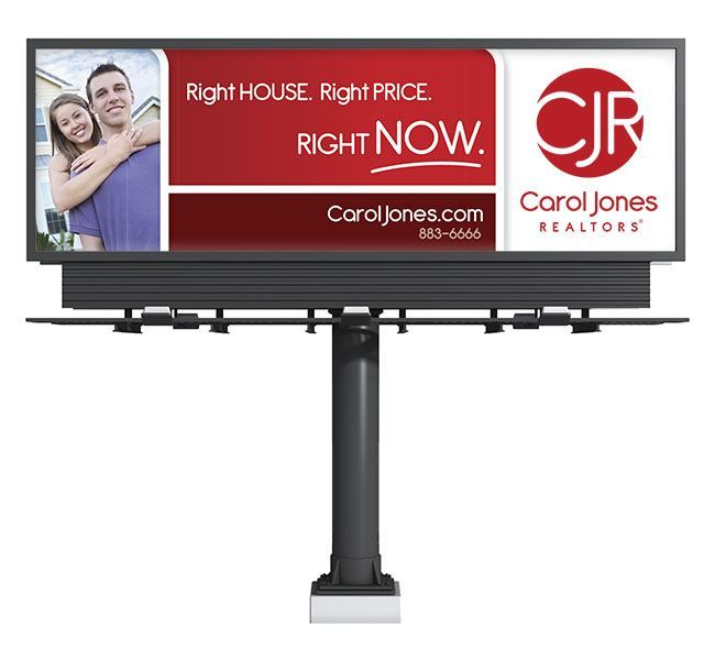 Red Crow Marketing - Carol Jones Realtors Billboard