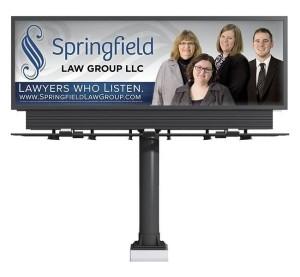 Red Crow Marketing - Springfield Law Billboard
