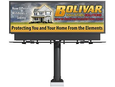Bolivar Insulation Billboard