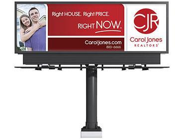 Carol Jones Realtors Billboard