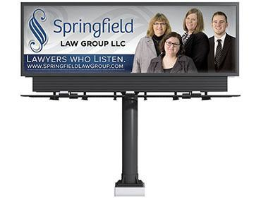 Red Crow Marketing - Springfield Law Group Billboard