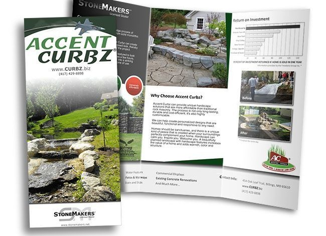 Red Crow Marketing - Accent Curbz Print Brochure
