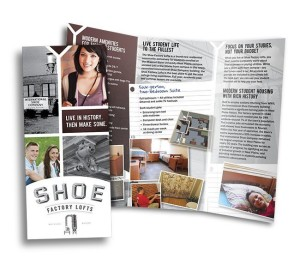 Red Crow Marketing - Shoe Factory Lofts Print Brochure