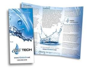 Red Crow Marketing - H2O Tech Print Brochure