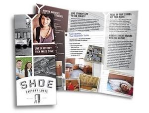 Red Crow Marketing - Shoe Factory Lofts Print Brochure