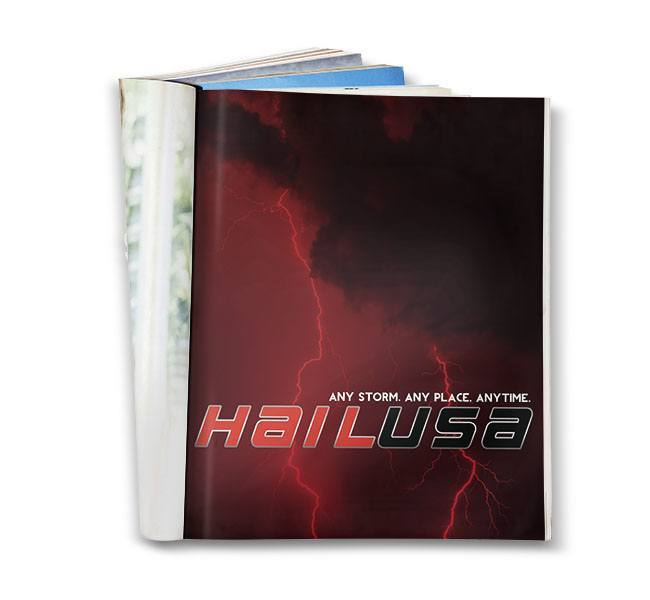 Red Crow Marketing - HailUSA Full Page Print Ad