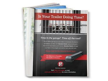 Hutchens Industries – Doing Time Print Ad