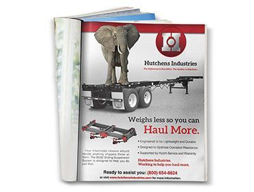 Red Crow Marketing - Hutchens Industries Full Page Print Ad
