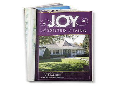 Joy Assisted Living Print Ad