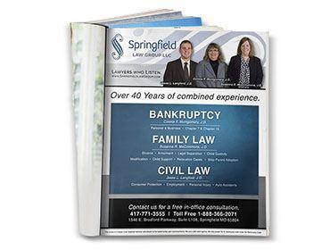Springfield Law Print Ad