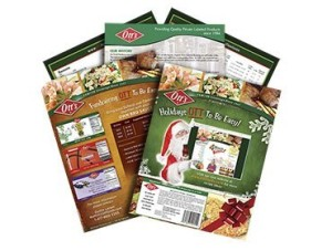 Red Crow Marketing - Otts Foods Print Media