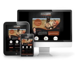 Red Crow Marketing - Doug Pitt Responsive Website