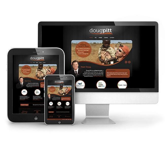 Red Crow Marketing - Doug Pitt Responsive Website