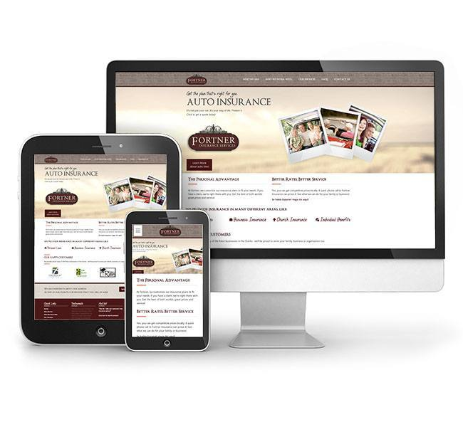 Red Crow Marketing - Fortner Insurance Responsive Website