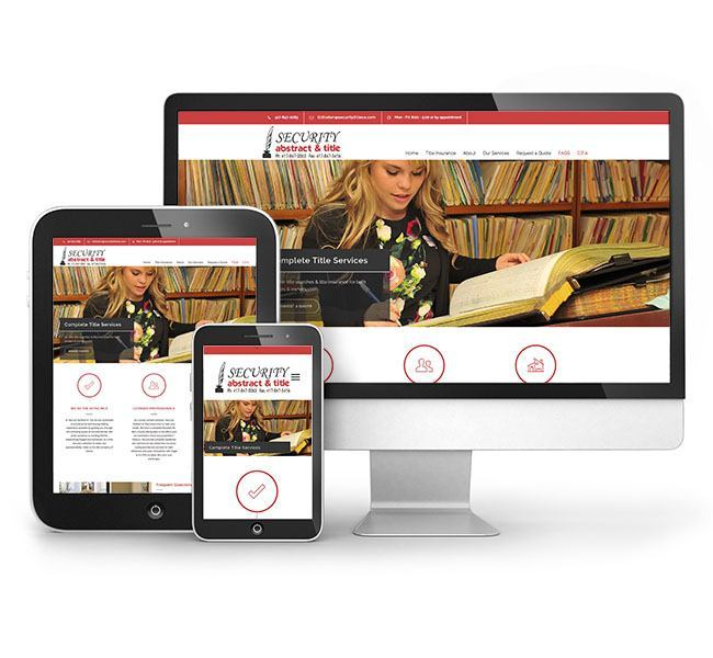 Red Crow Marketing - Security Abstract and Title Responsive Website