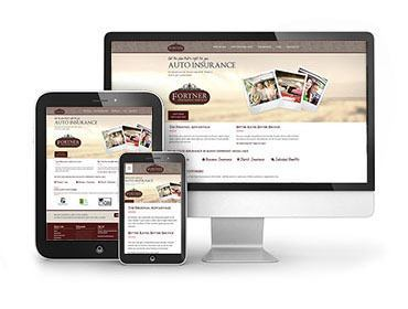 Red Crow Marketing - Fortner Insurance Website