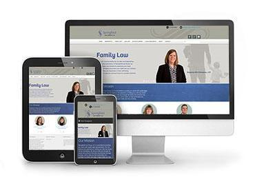 Red Crow Marketing - Springfield Law Group Website