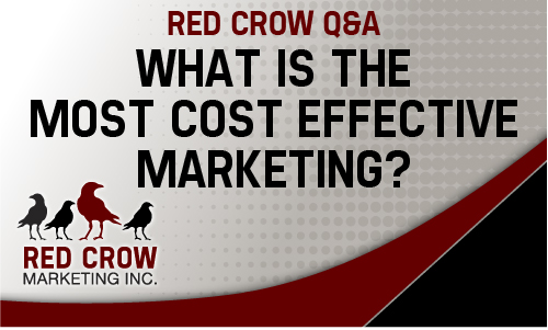 Red Crow Q&A Cost Effecive Marketing