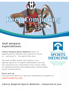 """""""...they care and they have the specialists there for any sports injury"""""""