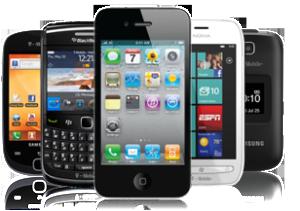 modern smart phones
