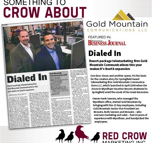 Something to Crow About - Gold Mountain Communications