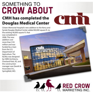 Something to Crow About: CMH Douglas Medical Center