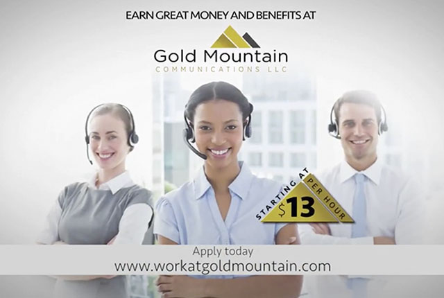 Gold Mountain Communications - Mountain of Money Video