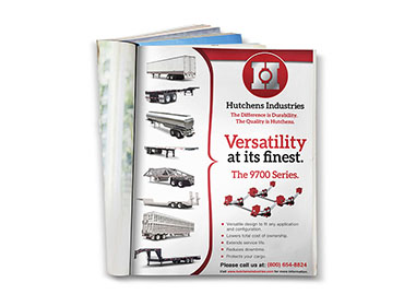 Graphic Design - Hutchens Industries 9700 Versatility Print Ad TN