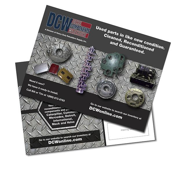 Graphic Design - DCW Postcard