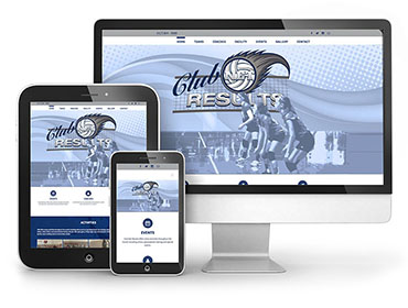 Club Net Results – Web Design