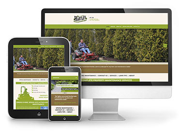 Hartley Lawn and Landscape – Web Design