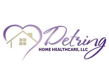 Superbe Detring Home Healthcare Logo Design