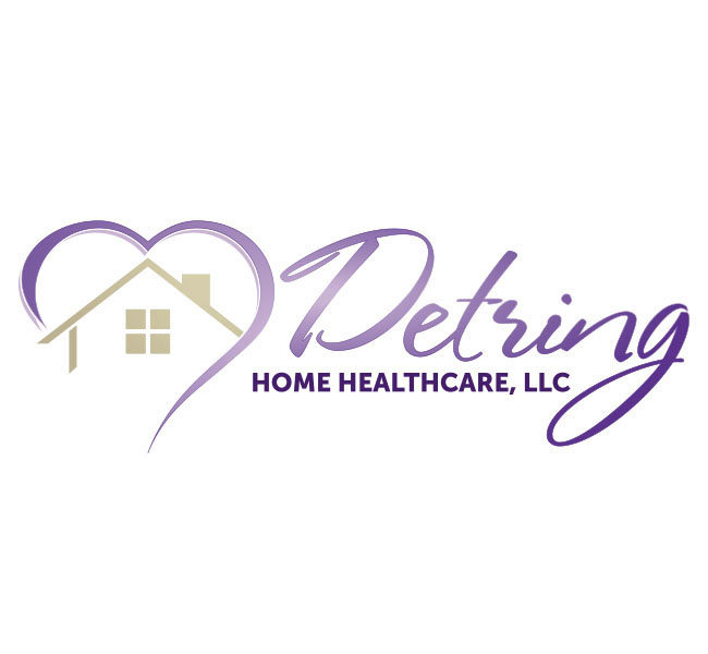 Captivating Detring Home Healthcare Logo Design