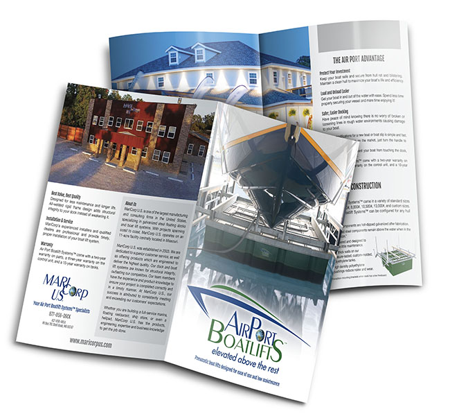 Maricorp Us Services Brochure | Red Crow Marketing