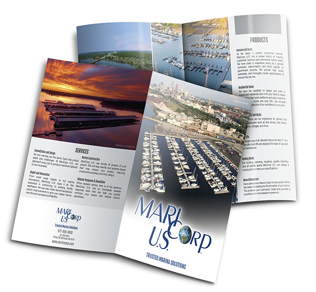 Red Crow Marketing - Graphic Design - MariCorp US Services Brochure