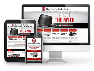 Hutchens Industries Web Design - TN