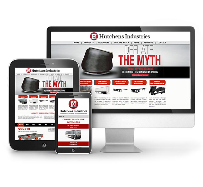 Hutchens Industries Web Design