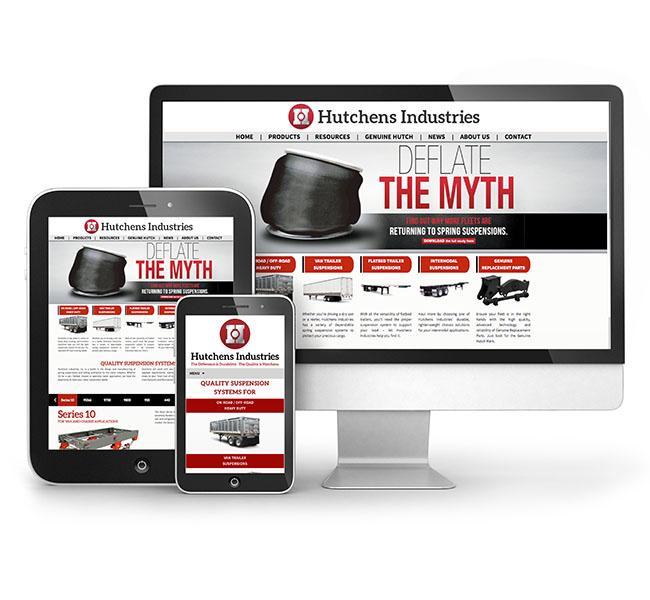 Red Crow Marketing - Hutchens Industries Web Design