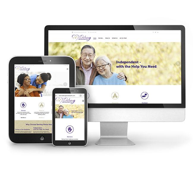 RCM-Detring-Home-Healthcare-website-launch