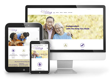 Detring Home Healthcare Web Design