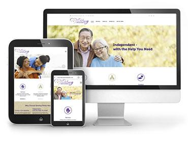 Detring Home Healthcare Web Design