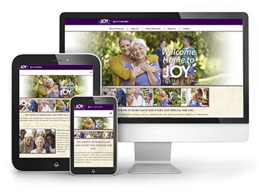 Joy Assisted Living – Web Design