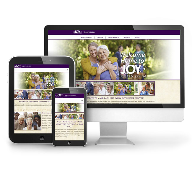 Joy Assisted Living - Website Design