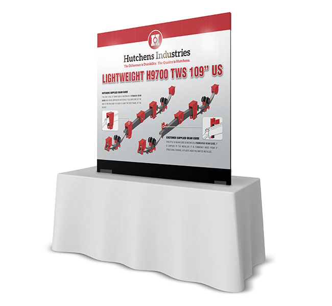 Hutchens Industries - 9700 TWS Display