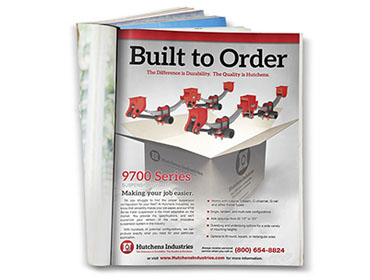 Hutchens Industries - 9700 Built To Order Print Ad TN
