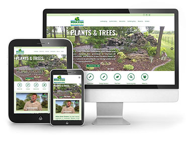 Willow Green Gardens - Website Design TN